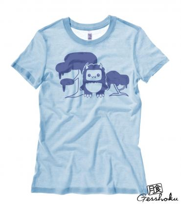 Tricky Yeti's Magical Forest Ladies T-shirt