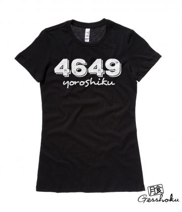 4649 YOROSHIKU Ladies T-shirt