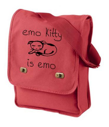 Emo Kitty Field Bag
