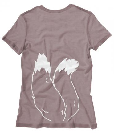 Kitsune Fox Tails Ladies T-shirt