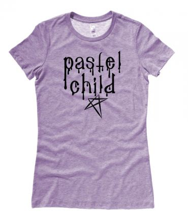 Pastel Child Ladies T-shirt