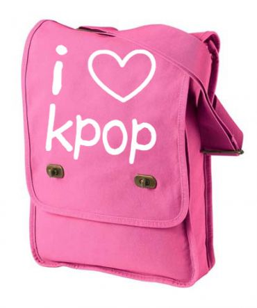 I Love Kpop Field Bag