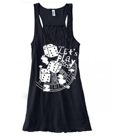 Let's Play 666 Flowy Tank Top