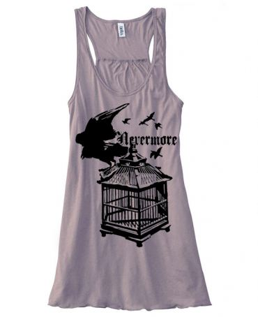 Nevermore: Raven's Cage Flowy Tank Top