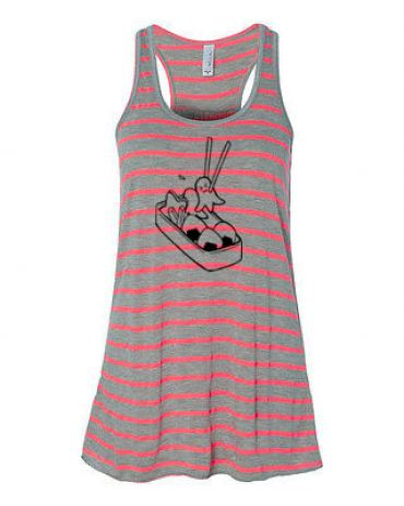 Bento Box Kawaii Flowy Tank Top
