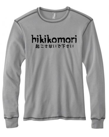 Hikikomori Mens Long-Sleeve Thermal Shirt