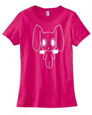 Robot Bunny Ladies T-shirt