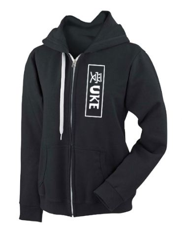 Uke Badge Fashion Fit Zip Hoodie