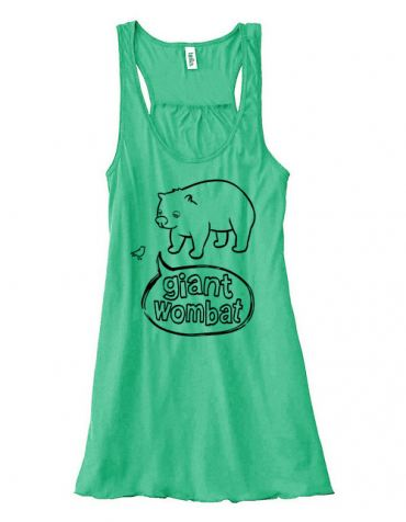 Giant Wombat Flowy Tank Top