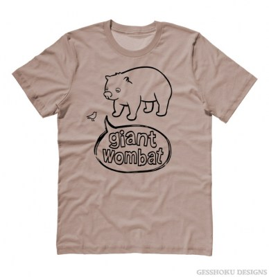 Giant Wombat T-shirt
