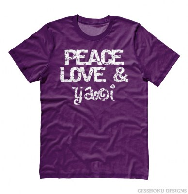 Peace Love & Yaoi T-shirt