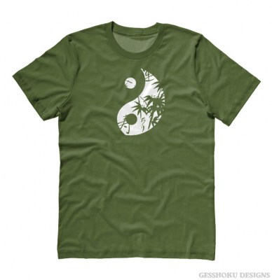 Asian Pattern Yin Yang T-shirt