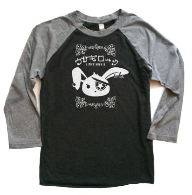 Usagi Rock Raglan T-shirt 3/4 Sleeve