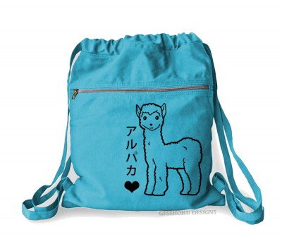 Alpaca Love Cinch Backpack