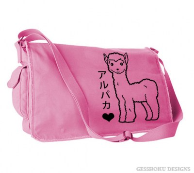 Alpaca Love Messenger Bag