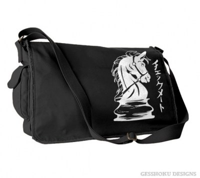Checkmate Knight Messenger Bag