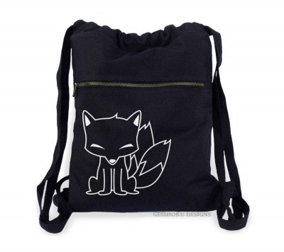 Chibi Kitsune Cinch Backpack