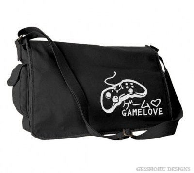 Game Love Messenger Bag