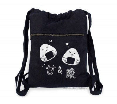Onigiri Rice Balls Cinch Backpack