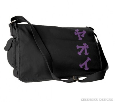 Yaoi Katakana Messenger Bag