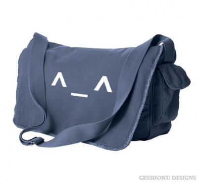Happy Emoticon Messenger Bag