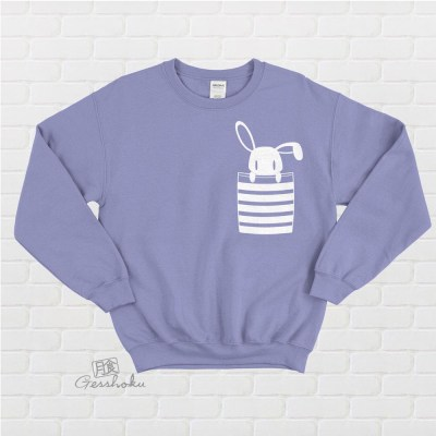 Bunny in My Pocket Crewneck Sweatshirt