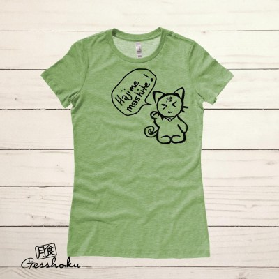Hajimemashite! Harajuku Kitty Ladies T-shirt