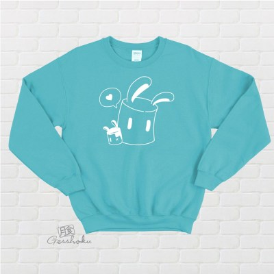Marshmallow Bunnies Crewneck Sweatshirt