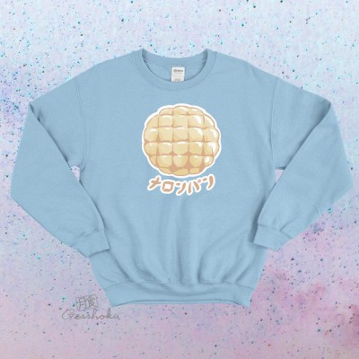 Melon Pan Crewneck Sweatshirt