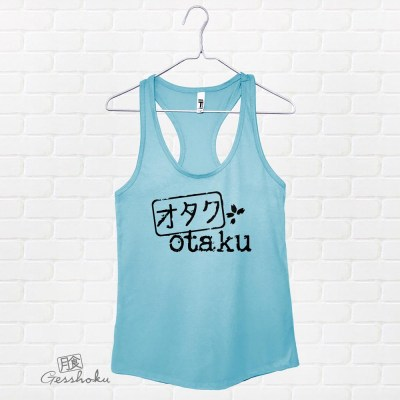 Otaku Stamp Flowy Tank Top