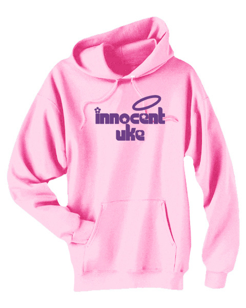 Innocent Uke Pullover Hoodie - Light Pink