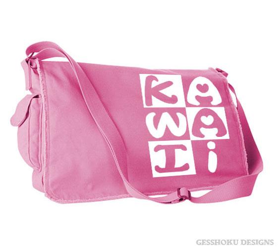 Kawaii Block Messenger Bag