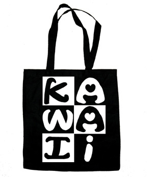Kawaii Block Tote Bag