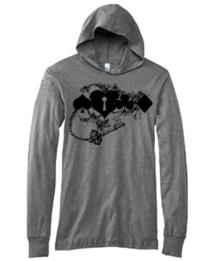 Key to My Heart Hooded T-shirt