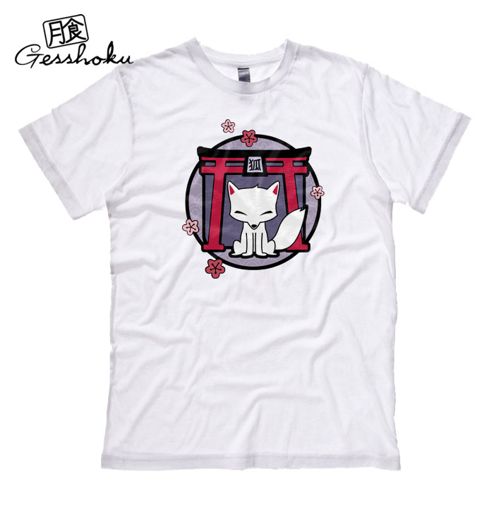 Kitsune Shrine T-shirt - White