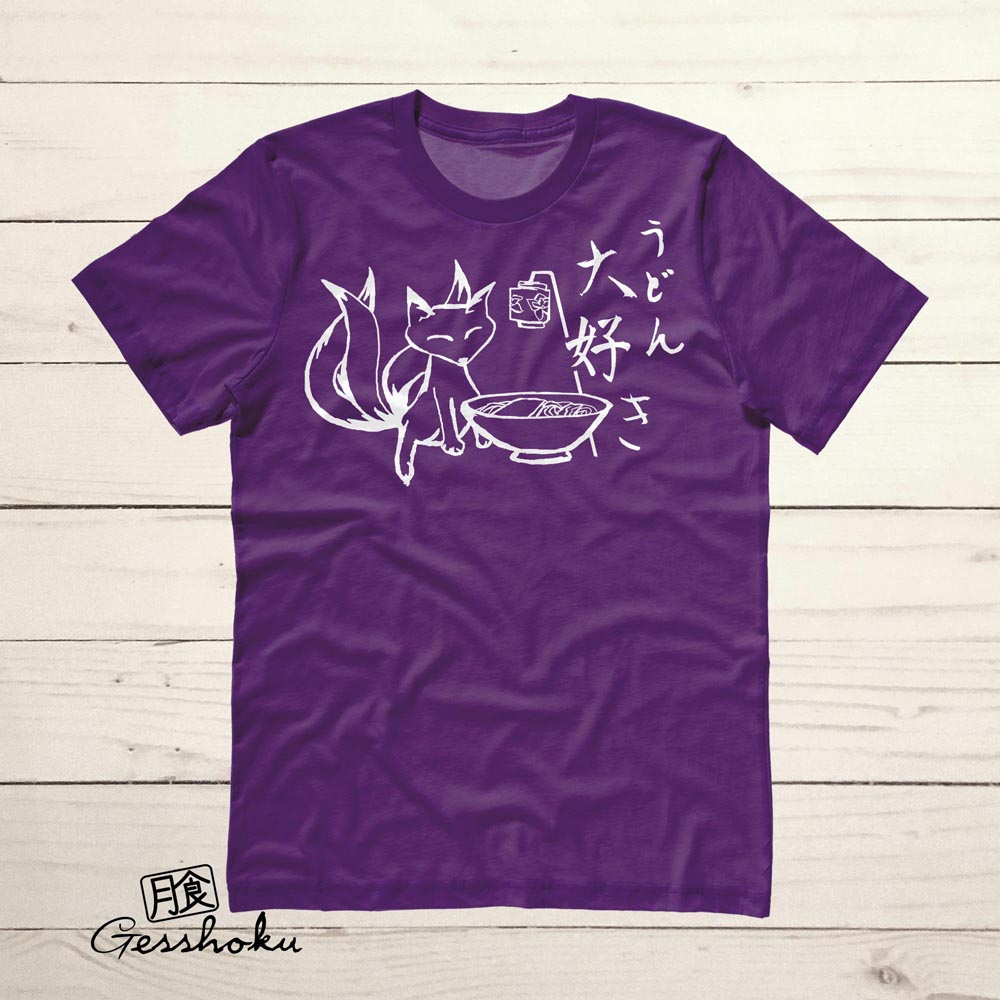 Kitsune Udon T-shirt - Purple