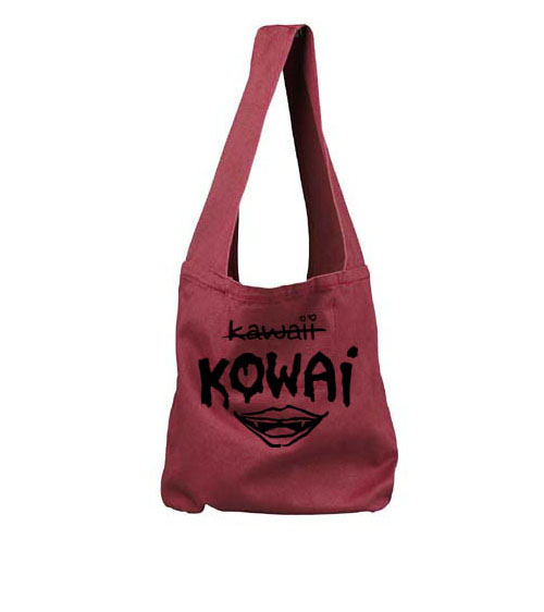 KOWAI not Kawaii Sling Bag - Red