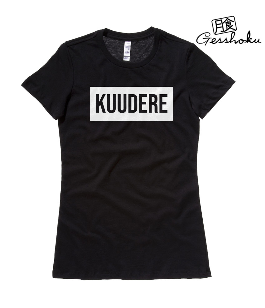 Kuudere Ladies T-shirt - Black