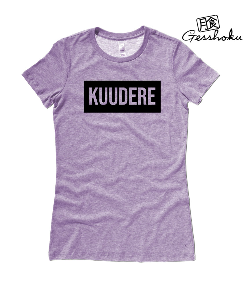 Kuudere Ladies T-shirt - Heather Purple
