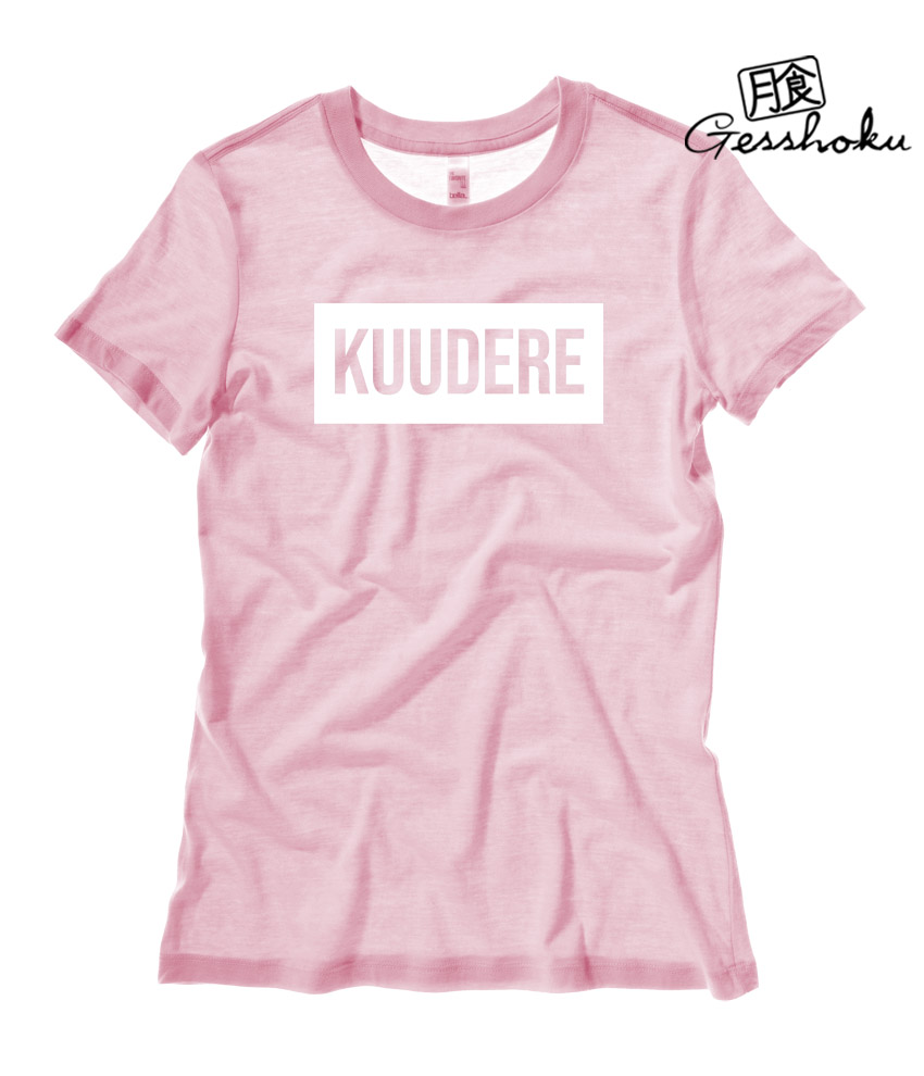 Kuudere Ladies T-shirt - Light Pink