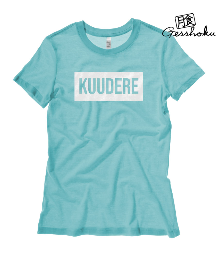 Kuudere Ladies T-shirt - Teal