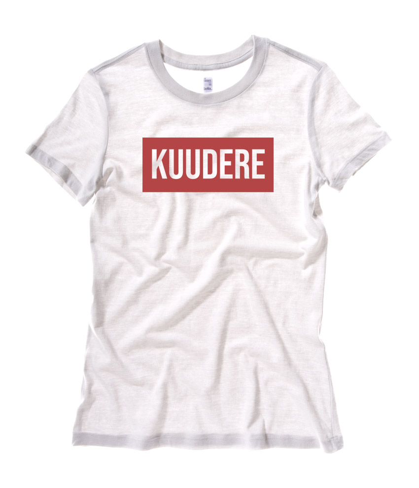 Kuudere Ladies T-shirt - White