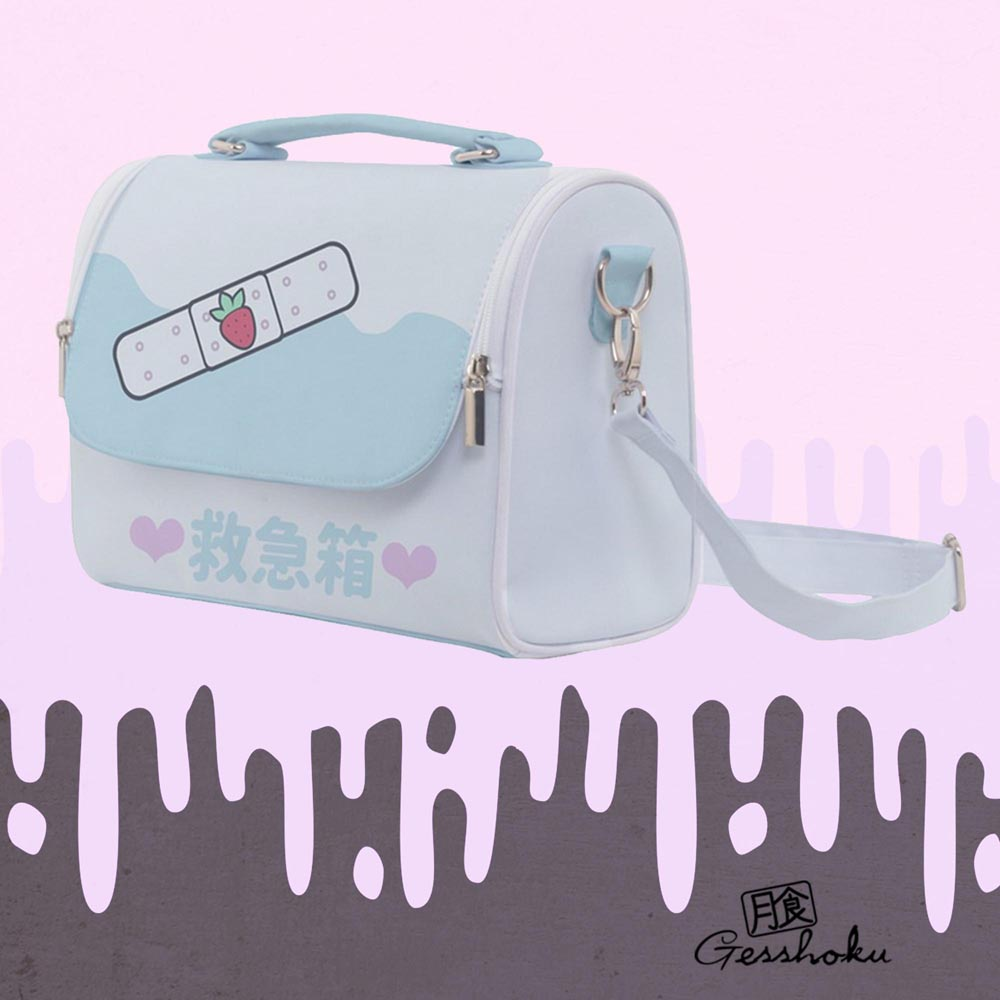 Kawaii Bandage KyuKyuBako Shoulder Bag - Blue