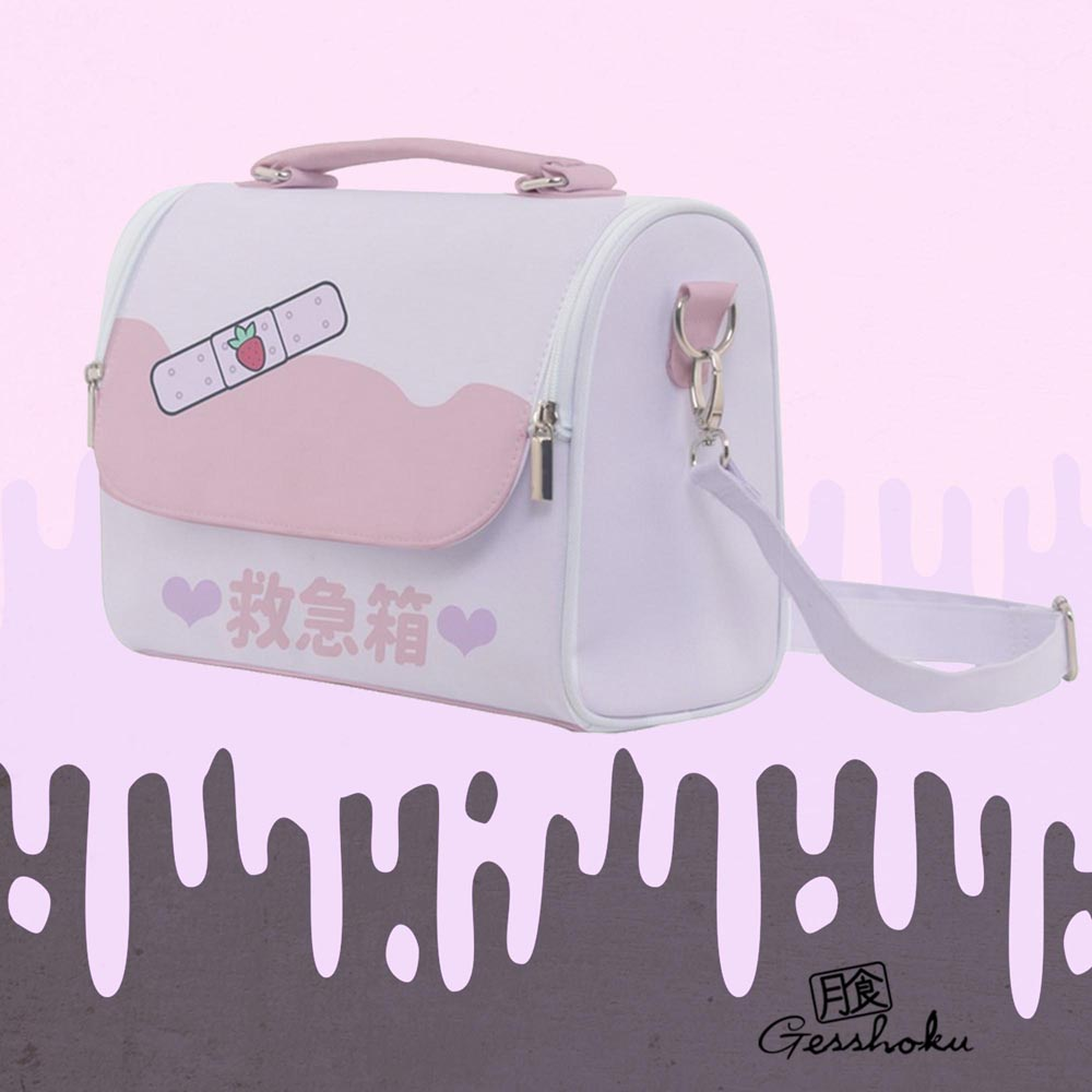 Kawaii Bandage KyuKyuBako Shoulder Bag - Pink