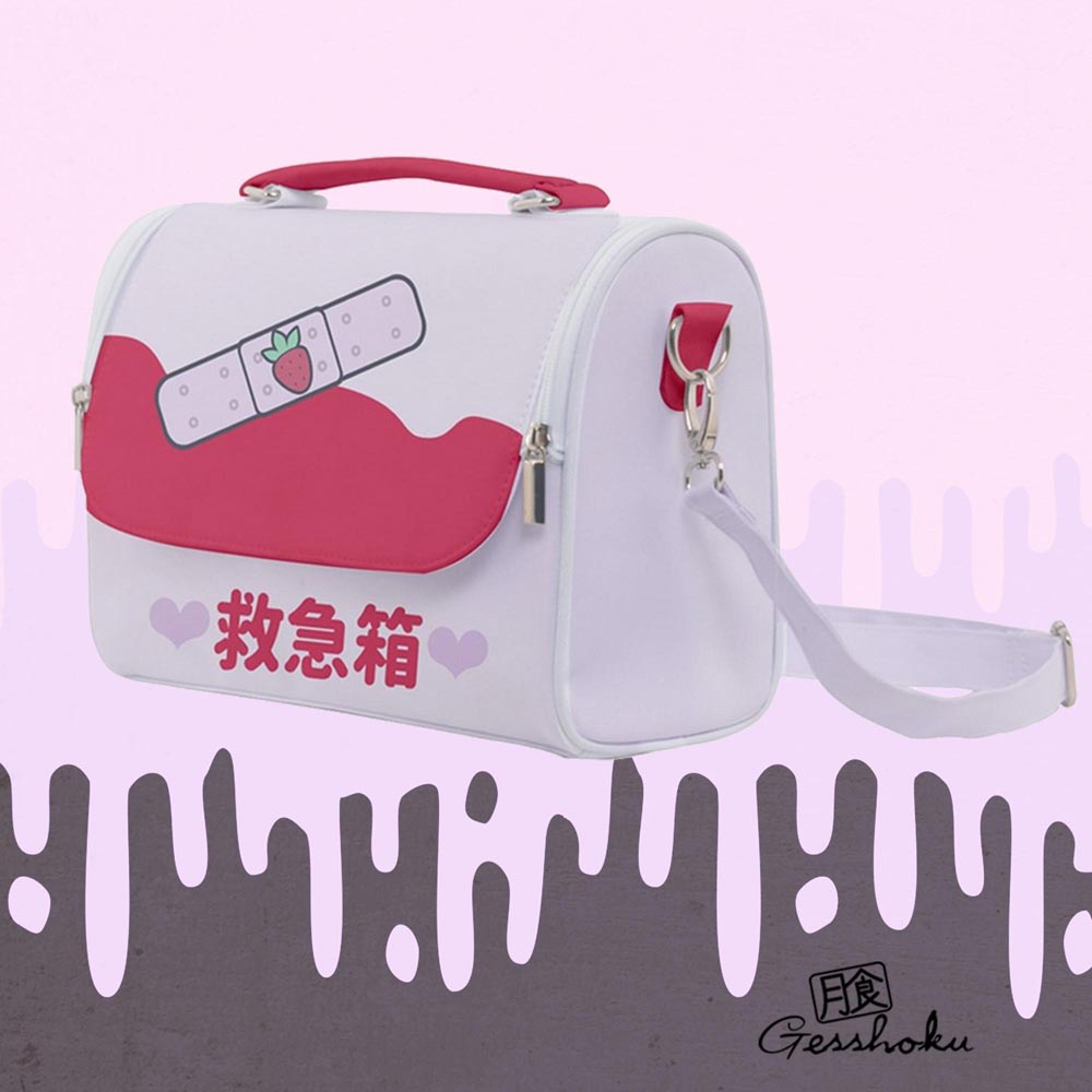 Kawaii Bandage KyuKyuBako Shoulder Bag - Red