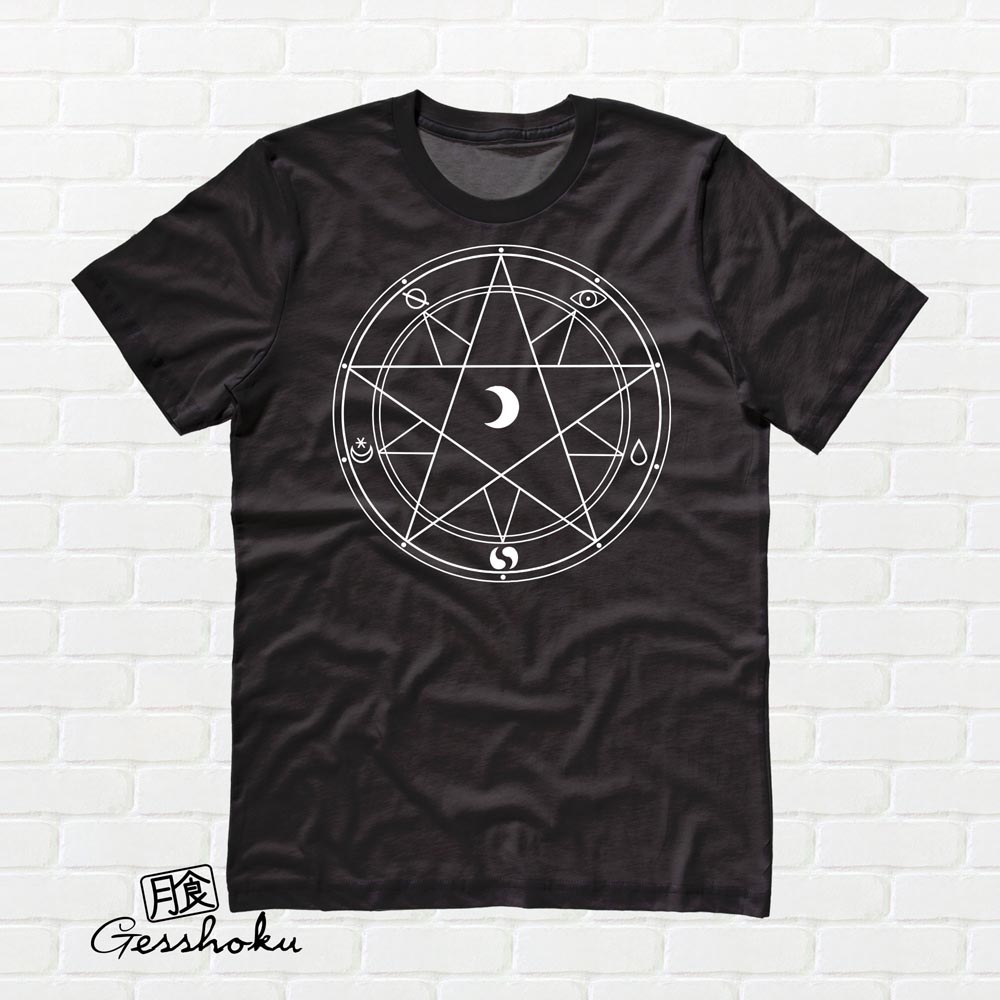 Magic Circle T-shirt - Black