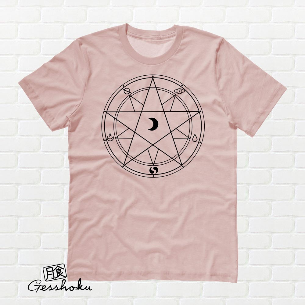 Magic Circle T-shirt - Rose Gold