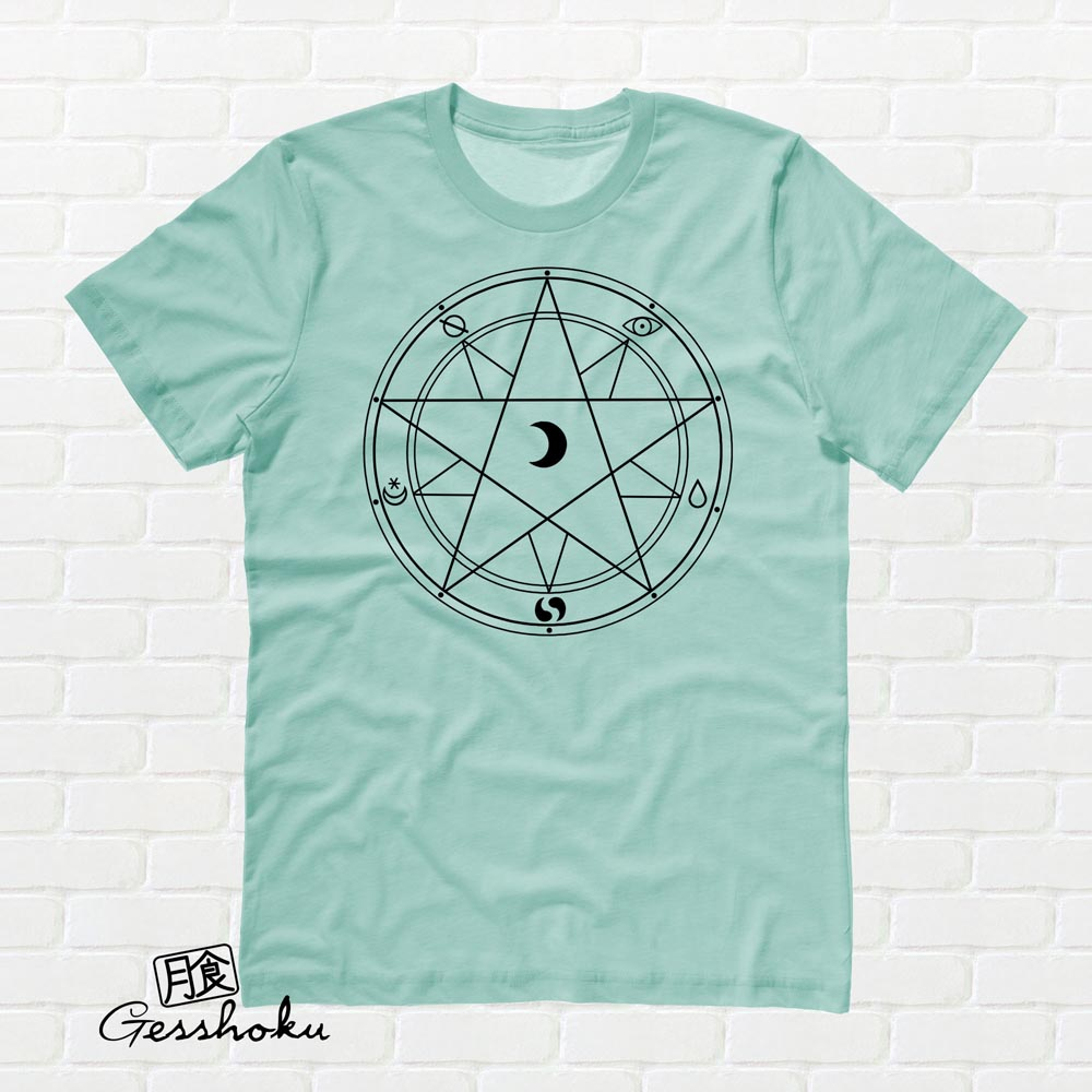 Magic Circle T-shirt - Mint