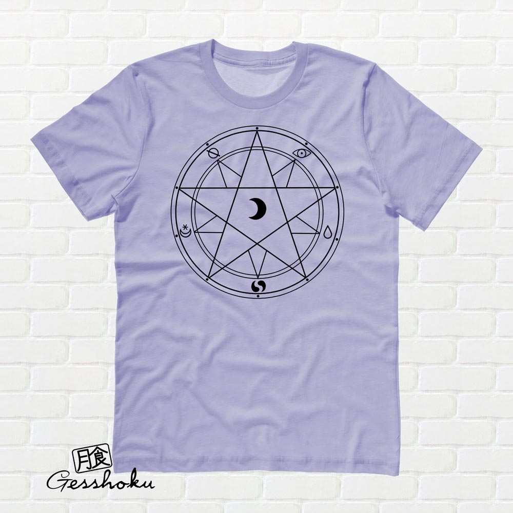 Magic Circle T-shirt - Violet