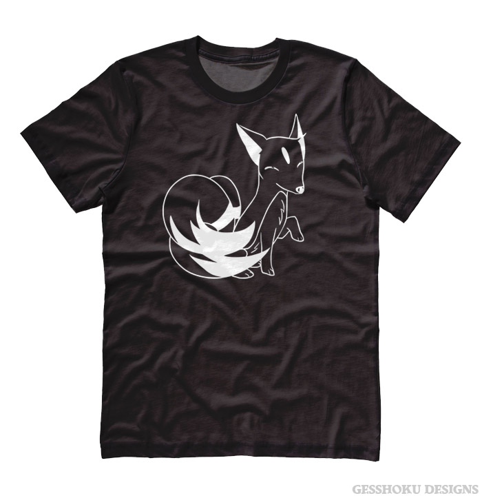 Majestic Kitsune T-shirt - Black